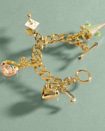 Juicy Couture Chain Bracelet & Charms -  Accessories -  Neiman Marcus :  bracelet charms accessories