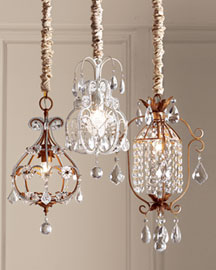 Neiman Marcus Mini Chandeliers