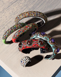 MCL by Matthew Campbell Laurenza Sapphire Cuffs & Ring -  New Arrivals -  Neiman Marcus from neimanmarcus.com