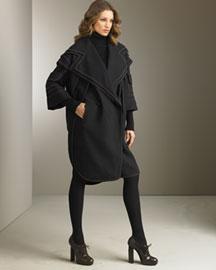Fendi Wool Coat- Fall- Neiman Marcus from neimanmarcus.com