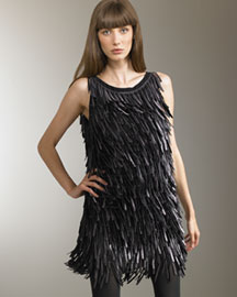 Fendi            Sleeveless Fringed Dress -   Neiman Marcus :  swingy designer neimanmarcus italy