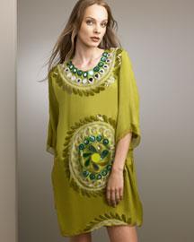 Chloe             Embellished Tunic Dress-     Apparel-  Neiman Marcus