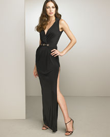 Blumarine Jeweled Gown -  Evening -  Neiman Marcus :  evening wear collection designer gown