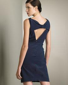 Valentino Roma Bow-Back Dress