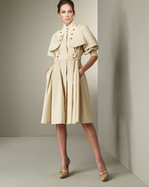 Doo.Ri Trench Coat Dress -  Apparel -  Neiman Marcus :  doori new chic woman