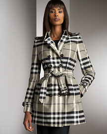 Burberry London Check Poplin Jacket -  Burberry -  Neiman Marcus