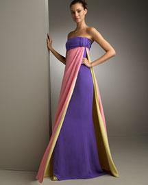 Valentino Color-Block Gown -  Apparel -  Neiman Marcus from neimanmarcus.com