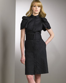 Boudicca Belted Shirtdress -  Boudicca -  Neiman Marcus