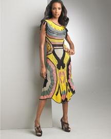 Jean Paul Gaultier Crocheted Dress- Neiman Marcus
