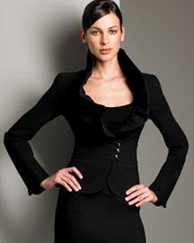 Armani Collezioni Featherweight Wool Jacket :  armani collezioni