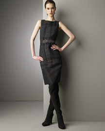 Akris Punto Tweed Dress from neimanmarcus.com