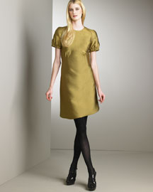 Burberry Prorsum Short-Sleeve Dress -  Burberry Prorsum -  Neiman Marcus :  fashion design designer pre-fall 2008