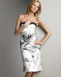 Tuleh Graffiti Cocktail Dress- Prints- Neiman Marcus
