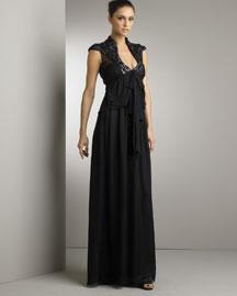 Valentino Silk Organza Gown