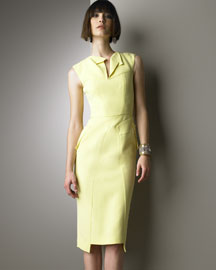 Kleber Dress , RM by Roland Mouret - 	Neiman Marcus :  pleating kleber dress roland mouret asymmetric