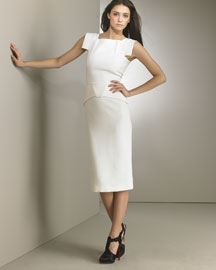 RM by Roland Mouret Pigalle Dress, Winter White -  Neutrals -  Neiman Marcus