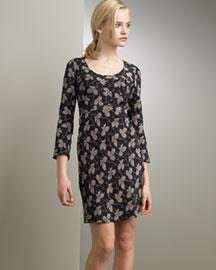 Stella McCartney Ivy-Print Dress- Apparel- Neiman Marcus