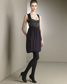 Narciso Rodriguez Washed Silk Charmeuse Dress