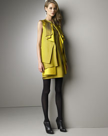 Proenza Schouler Origami Dress -  Proenza Schouler -  Neiman Marcus :  proenza schouler origami dress dress yellow evening