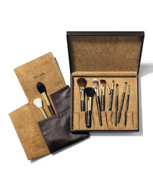 Bobbi Brown Exclusive Luxe Brush Collection -  Neiman Marcus 100th Anniversary :  brushes neiman 24kt cosmetic brushes