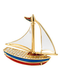 Estee Lauder Pleasures Sparkling Sailboat Perfume Compact -  Gifts under $300 -  Neiman Marcus