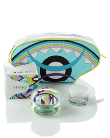 Emilio Pucci Fragrance Vivara Gift Set -  Gifts under $300 -  Neiman Marcus :  face timeless womens green