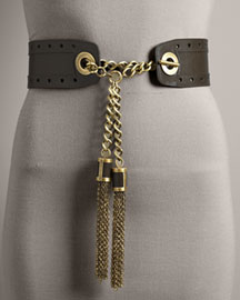 Michael Kors -             Chain Tassel Trouser Belt