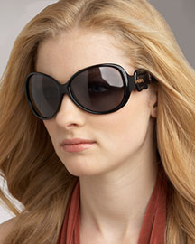 Fendi Fendi B Buckle Sunglasses, Round