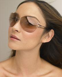 Fendi Rimless Sunglasses