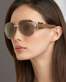 Fendi Fendi B Aviator Sunglasses