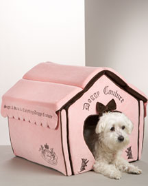 Juicy Couture            Princess Dog House -   		Pets - 	Neiman Marcus :  doggy couture heart-shaped sugar princess