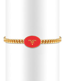 Prada Chain-Link Belt -  Accessories -  Neiman Marcus