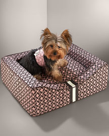 Juicy Couture            Couture Canvas Dog Bed -   		Pets - 	Neiman Marcus from neimanmarcus.com
