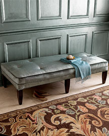 Seaglass Bench -   		Benches - 	Neiman Marcus :  home furniture neiman marcus benches