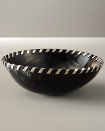 John Hardy             Buffalo Horn Round Bowl-     Shop Home Collection-  Neiman Marcus