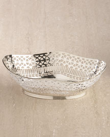 Silver-Plated Bread Basket