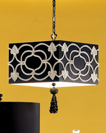 Shine Home Sugarlite Pendant -  Decorative -  Neiman Marcus :  lighting geometric ceiling resin