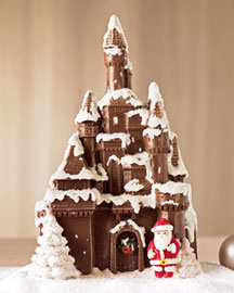 Golda and I Chocolate Castle -  For Friends & Family -  Neiman Marcus :  family treats friends expensive