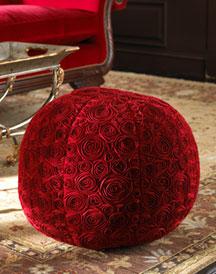 Rose Round Ottoman-  Furniture-Neiman Marcus