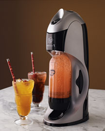 Soda Maker Kit -  Kitchen & Gourmet -  Neiman Marcus :  gourmet sparkling water new gadget kitchen