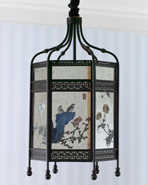Floral Lantern Pendant Light -  Lighting -  Neiman Marcus