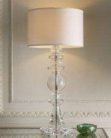 Neiman Marcus - Grand Crystal Table Lamp