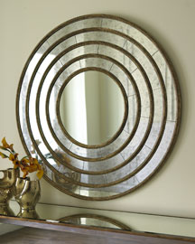 Concentric Circle Mirror -   		Mirrors & Wall Decor - 	Neiman Marcus