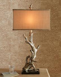 Neiman Marcus - Driftwood Table Lamp