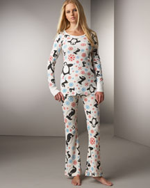 Penguin Pajamas -  Scanty -  Neiman Marcus :  sleepwear loungewear lounge sleep