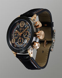 BRM Watch With Alligator Strap -  Jewelry & Watches -  Neiman Marcus :  strap timepiece gifts bezel