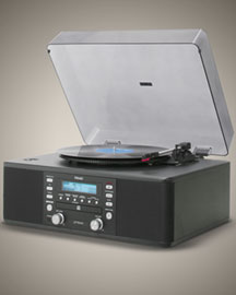 Teac Turntable CD Recorder -  Gadgets & Phones -  Neiman Marcus :  turntable music player neiman marcus record