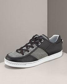 D&g Dolce & Gabbana Logo Patch Sneaker