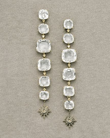 H.Stern Moonlight Crystal Earrings -  Earrings -  Neiman Marcus :  fashion accessory fashion accessories designer jewelry