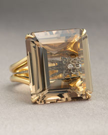 H.Stern Highlight Smoky Quartz Ring -  Rings -  Neiman Marcus :  fashion accessory design fashion accessories designer